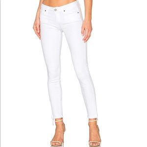 Paige White Skinny Ankle Jeans